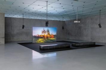 Helen Cammock · They Call it Idlewild, 2020, Ausstellungsansicht ‹Unvergessliche Zeit›, Kunsthaus Bregenz, 2020, Courtesy Kate MacGarry Gallery, London.Foto: Markus Tretter