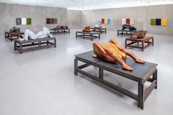 Ausstellungsansicht 1. OG, Kunsthaus Bregenz, 2019 ©ProLitteris.Foto: Markus Tretter