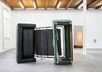 Ser Serpas · Ausstellungsansicht Fri Art Freiburg, 2019.Foto: Guillaume Baeriswyl