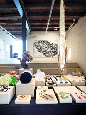 Julia Steiner · Fragmente der Welten, 2005–2016, Ausstellungsansicht