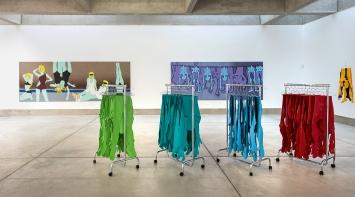 Kiki Kogelnik · Les cyborgs ne sont pas respectueuses, Ausstellungsansichten Musée des beaux-arts La Chaux-de-Fonds, 2020.Foto: Marie Gaitzsch