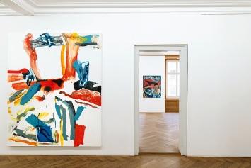 Max Hari · Ich schaue mir beim Sehen zu, 2020, Ausstellungsansicht Kunsthaus Langenthal.Foto: CE