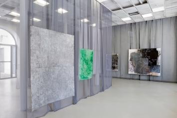 Thomas Hauri· K., 2021, Installationsansicht Espace d'art contemporain (les halles), Porrentruy.Foto: Jeannette Mehr