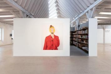 Tonjaschja Adler · Für dich habe ich nichts, 2017, Ausstellungsansicht Kunst(Zeug)Haus 2021. Foto: Andri Stadler