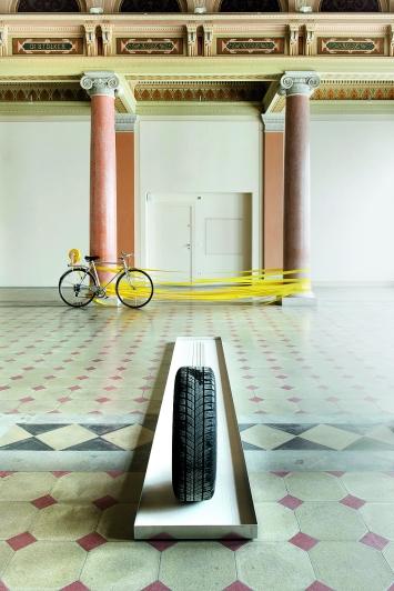 Installationsansicht St.Gallen,Foto: Sebastian Stadler