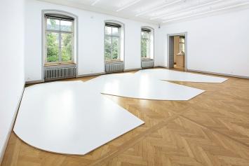 Philippe Rahm · Dazzle, 2019, Installationsansicht, Kunstmuseum St.Gallen.Foto: Stefan Rohner
