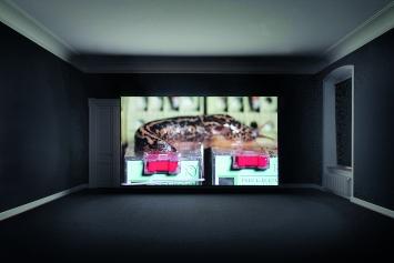 Nina Canell und Robin Watkins · Energy Budget, 2018, Courtesy Galerie Barbara Wien, Daniel Marzona und Mendes Wood.Foto: Sebastian Stadler
