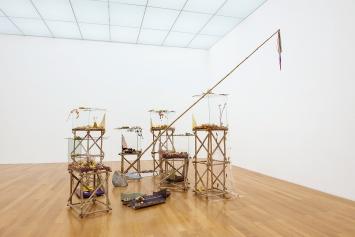 Athena Vida · Florastrale, 2020, AusstellungsansichtKunstmuseum Liechtenstein, Courtesy Mehdi Chouakri, Berlin.Foto: Sandra Maier
