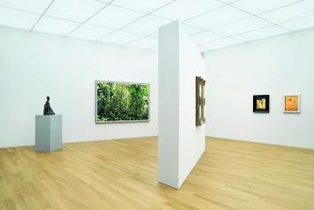 Thomas Struth · Composition '19 in der Hilti Art Foundation, Ausstellungsansicht.Foto: Ines Agostinelli