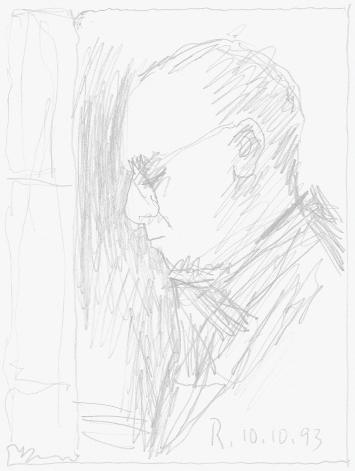 Gerhard Richter · Selbstbildnis (10.10.1993), 1993