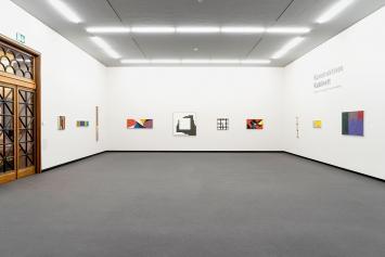 Verena Loewensberg · Konstruktives Kabinett, Ausstellungsansicht Kunstmuseum Winterthur, 2019.Foto: Reto Kaufmann