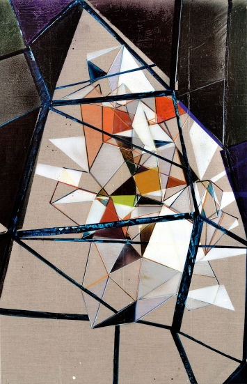 Arnold Helbling · Untitled, No 972, 2018, Acryl auf Leinwand, 94 x 61 cm