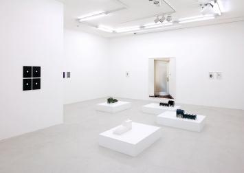 Lunar Caustic · 2018, Ausstellungsansicht Galerie Lange + Pult Zürich. Erster Raum.Foto: Martin Stollenwerk