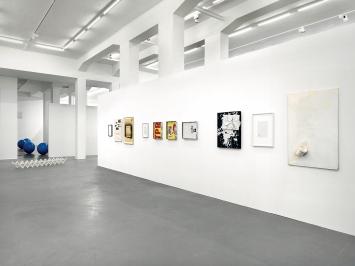 Annaïk Lou Pitteloud, Michiel Ceulers, Judith Kakon · A Fair Proposal, Ausstellungsansicht, Barbara Seiler, Zürich, 2018