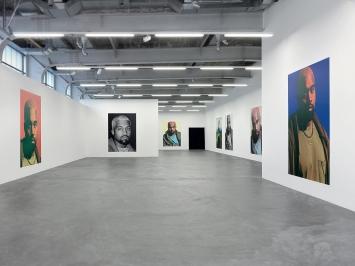 Heji Shin · KW, 2018, Wall Paper, 218x301cm.Foto: Annik Wetter