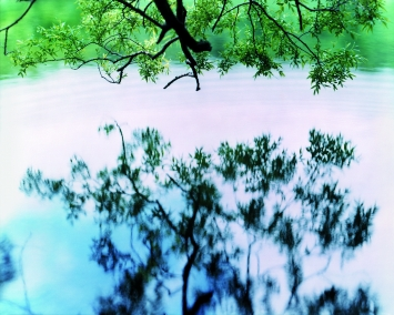 Risaku Suzuki · Water Mirror 17, WM-758 2017, Chromogenic Print, 120x155cm, Edition of 5