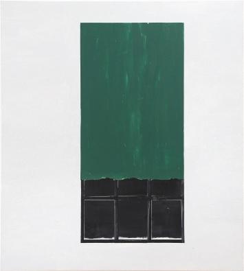 Valentin Hauri · Untitled (after Horace Pippin), 2019, Öl auf Leinwand, 130x119cm.Foto: Flurin Bertschinger