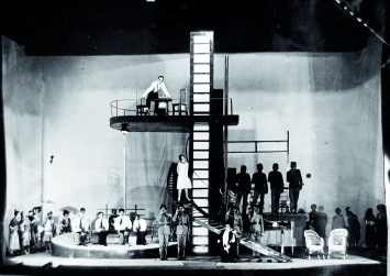 Irakli Gamrekeli · Intervention von I. Slavin, Rustaveli Theatre 1934, Tbilisi Museum of Cinema, Theatre and Music