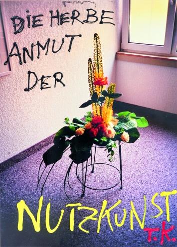 Thomas Kapielski · Nutzkunst: Herbe Anmut, 2018, (Serie), Acryl, Firnisspray auf Premium-fotodruck auf Sperrholzmalplatte, 70x50cm, Courtesy Galerie & Edition Marlene Frei, Zürich ©ProLitteris