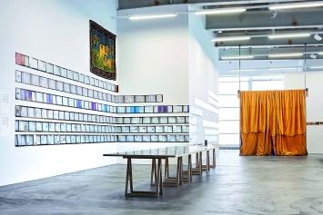 Georgischer Modernismus, Die Fantastische Taverne, Installationsansicht, Kunsthalle Zürich, 2018