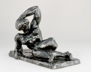 Henri Matisse · Nu couché I (Aurore), 1907, Bronze, 34,4x49,9x27,9cm, The Baltimore Museum of Art: The Cone Collection ©ProLitteris.Foto: Mitro Hood