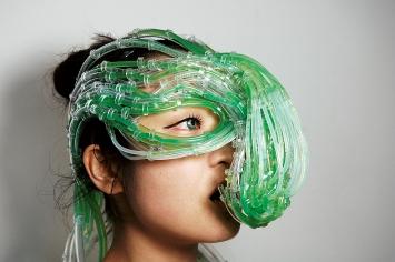 Burton Nitta (Michael Burton & Michiko Nitta) · Near Future Algae Symbiosis Suit– Protoype, 2010