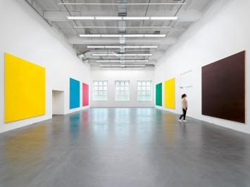 Olivier Mosset · Ex Cave, Ausstellungsansicht Museum Haus Konstruktiv, 2019.Foto: Stefan Altenburger