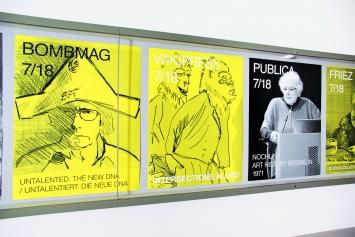 RELAX (chiarenza & hauser & co) · what do we want to keep?, 2018, Ausstellungsansicht, Vitrine, Courtesy Graphische Sammlung ETH Zürich.Foto: Livio Baumgartner