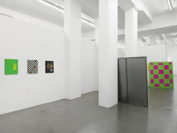 Bob Eikelboom, Courves, Barbara Seiler, Installation view, 2019