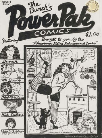 © Aline Kominsky-Crumb Power Pak Comics Ausstellung Aline Kominsky-Crumb und Robert Crumb Drawn Together