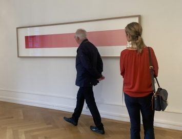 Fabrice Gygi, ‹Une longue vacance›, 2021, Palais de l'Athénée, Salle Crosnier (Ausstellungsansicht). Foto: Katharina Holderegger Rossier