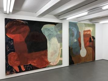 Ausstellungsansicht, Sara Gassmann, Cimata und Radicchio, 2018