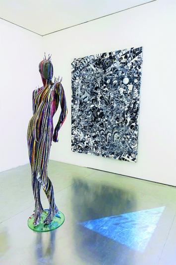 Christian Eisenberger · lieber nervös, als hässig und bös, 2019, Installationsansicht Galerie Nicola von Senger ©ProLitteris