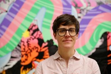 Christine Streuli,Foto: Jens Nober, Museum Folkwang Essen