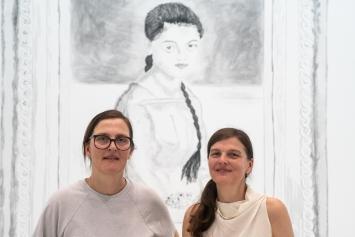 Claudia und Julia Müller, 2019,Courtesy MBA La Chaux-de-Fonds.Foto: Victor Savanyu