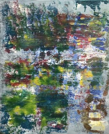 Vuelo (der Flug),2020, Acryl auf Leinwand, 180 x 150 cm