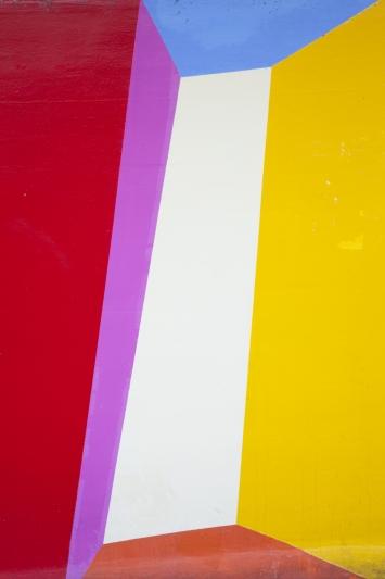 Maria Bettina Cogliatti, Trompe-l'œil, 1998, Wandbild, Acrylfarbe, 18,5 x11,2 m, Vorstadtquai, Eigentum Stadt Zug