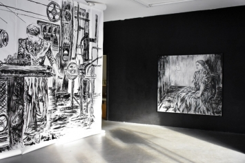 Ana Vujic | DECONSTRUCTION | exhibition view January 2019