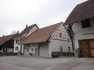 """Historisches Bauernhaus """"Im Höfli 7"""" in Herblingen- Shaffhausen. (Bild: Denkmalpflege Schaffhasuen)."""