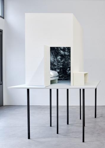 Julia Steiner, der letzte Raum, 2016–2020, work in progress, Ausstellungsansicht Galerie Urs Meile, Luzern, 5.3.–2.5.2020©Julia Steiner