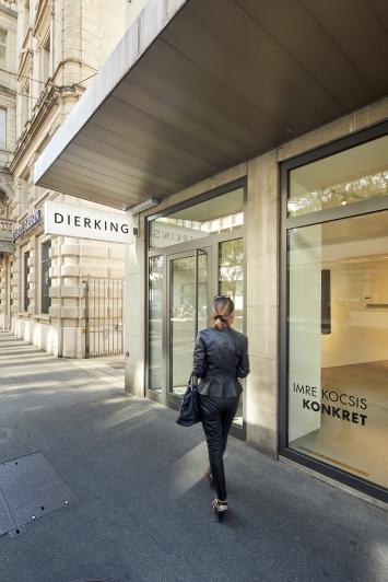 Dierking Galerie am Paradeplatz,Foto: Yves Roth