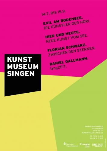Sommerausstellungen 2019 im Kunstmuseum Singen