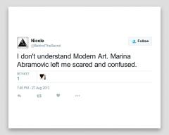 Kailum Graves, I Don't Understand Modern Art