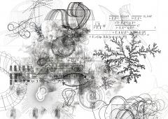 Zeichnungs-Algorithmus in Kooperation mit Alexandre Dubreuil und Nicolas Weyrich