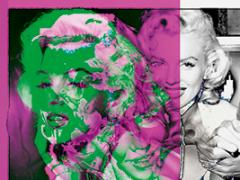 Cornelia Sollfrank,Net.Art Generator, seit 1999, automatisch generierte Collage nach Eingabe des Suchbegriffs ‹Warhol Marilyn› in den Netzkunstgenerator