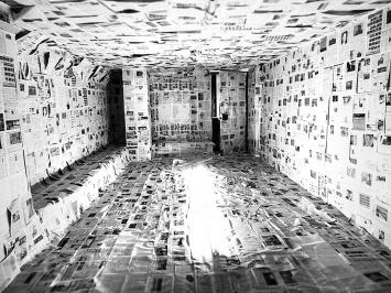 Installation von Veronika Spierenburg/Daniel Lehan. Foto: Chri Frautschi