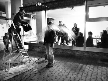 Happening von Antal Thoma. Foto: Chri Frautschi