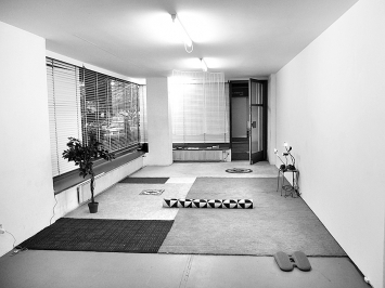 Installation von Martina Böttiger& Rosanna Monteleone. Foto: Chri Frautschi