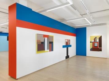 Nathalie Du Pasquier, ‹The Strange Order of Things 2›, Pace Gallery Geneva, 2020 (Ausstellungsansicht).Foto: Annick Wetter