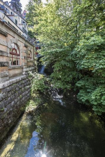 Wasserfall der Steinach, St.Gallen, Fotografie: Anna-Tina Eberhard St.Gallen